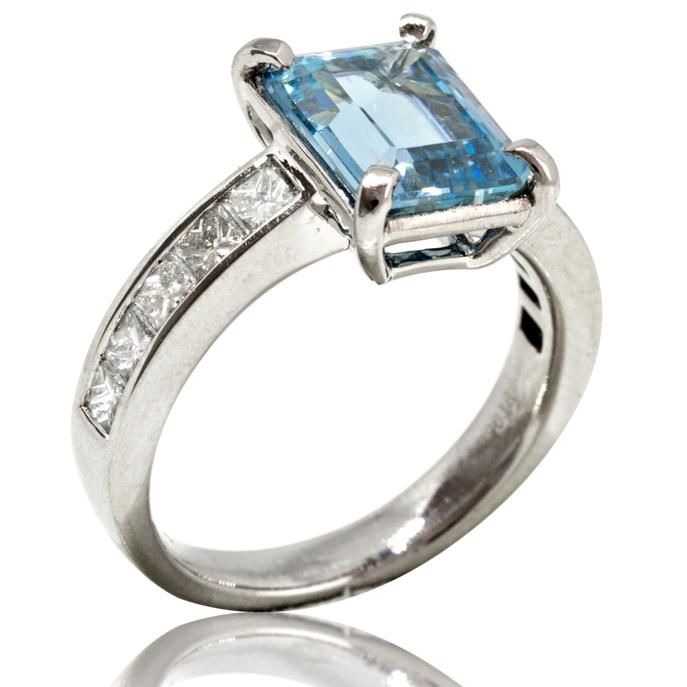 5becdc87e9b46 Platinum Aquamarine Ring